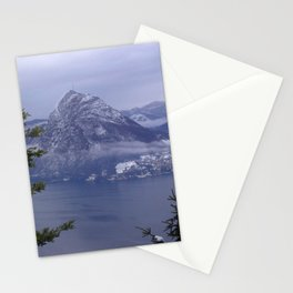 Lake Lugano Stationery Cards