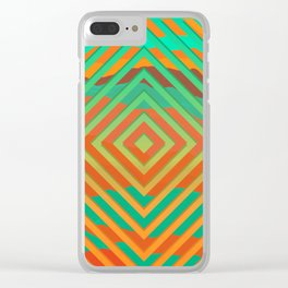 TOPOGRAPHY 2017-021 Clear iPhone Case