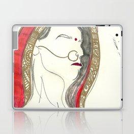 Red Lady Laptop & iPad Skin