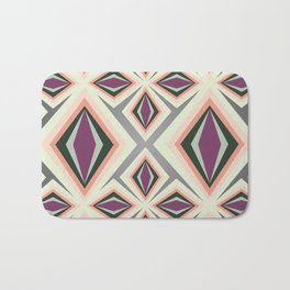 Contemporary Geometric Design Bath Mat