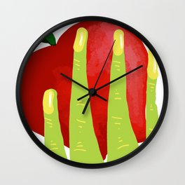 Witch Hands Wall Clock