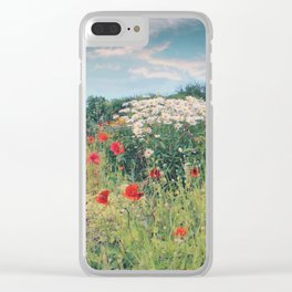 Greens Of Summers Clear iPhone Case