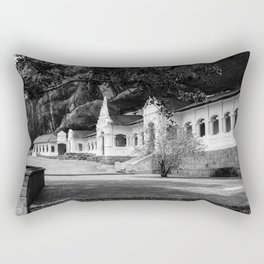 The Royal Rock Temple complex location Dambulla Rectangular Pillow