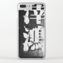 drip Clear iPhone Case