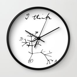 Darwin - Tree of Life - I Think Wall Clock