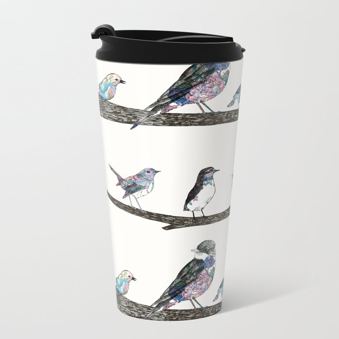 Birds: 2 Metal Travel Mug