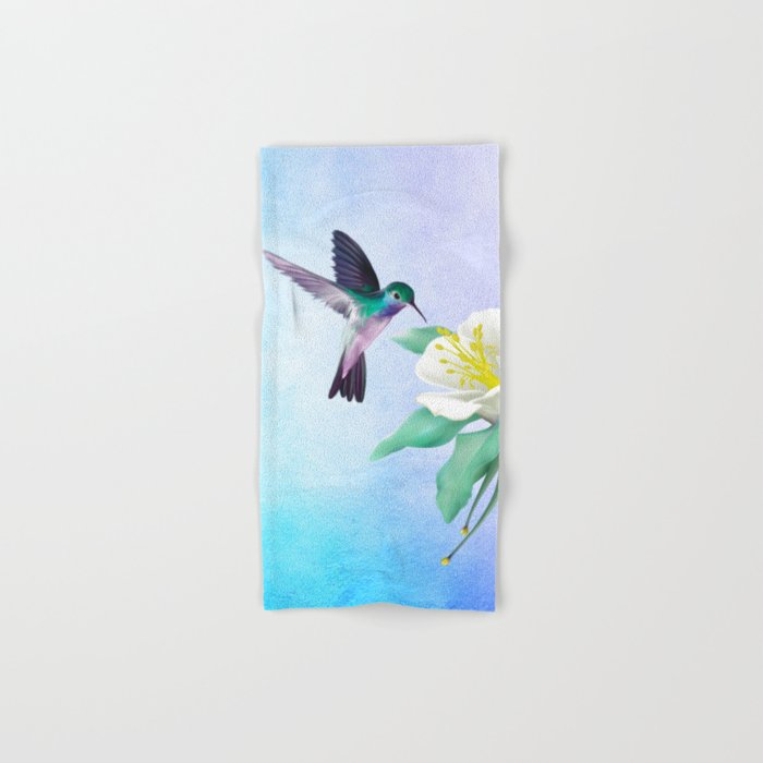 hummingbird. Hand & Bath Towel