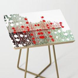 Fingerprint Side Table