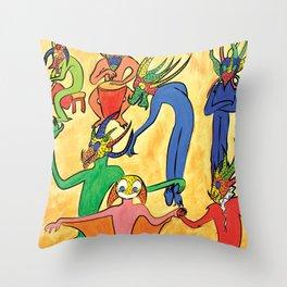 Vejigantes Throw Pillow