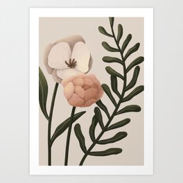 Kiali - Floral Composition Art Print