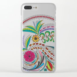 Colorful Vibes Clear iPhone Case