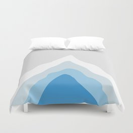 Inside the Iceberg Duvet Cover