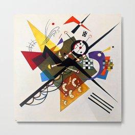 Wassily Kandinsky On White II Metal Print