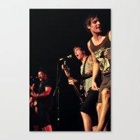 punk rock Canvas Prints featuring Punk Rock by Rick Cohen