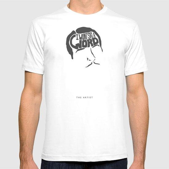 I Won't Say a Word! -The Artist T-shirt