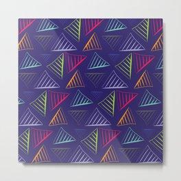 Art triangles Metal Print
