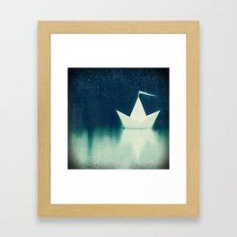 ocean angel Framed Art Print