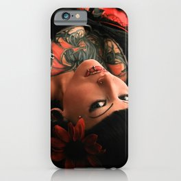 Tattoo Pin Up iPhone Case