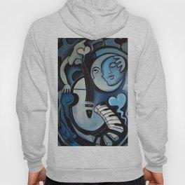 Black & Bleu Hoody