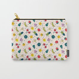 Happy fruits pattern Carry-All Pouch