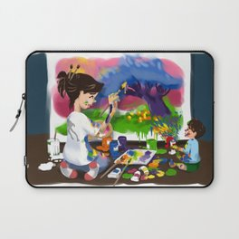 Tiny Apprentice: Artist Laptop Sleeve