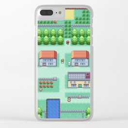 Dreams of Pallet Town - Kanto Clear iPhone Case