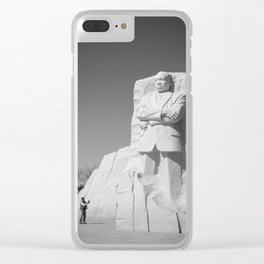 Martin Luther King memorial Washington D.C. Clear iPhone Case