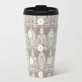 Gypsy Lace in Neutral Travel Mug