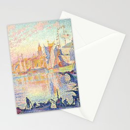 The Port of Saint-Tropez, Paul Signac, 1901 Stationery Cards