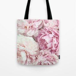 A bunch of peonies Tote Bag