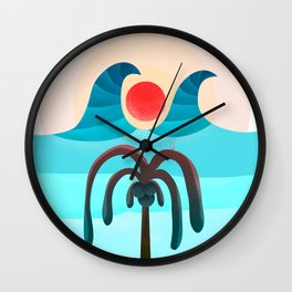 063 - Sun attack!!! Wall Clock