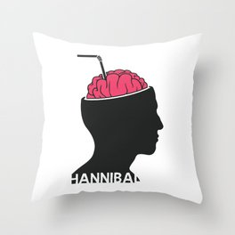Michelin Starred Cannibal Throw Pillow