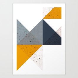 Modern Geometric 19/2 Art Print