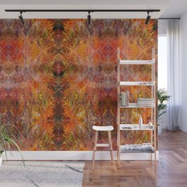 Abstract acrylic sunburst v1 Wall Mural