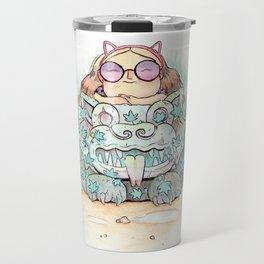 Ancient cats Travel Mug
