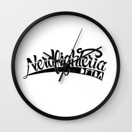 Nerdfighteria Wall Clock