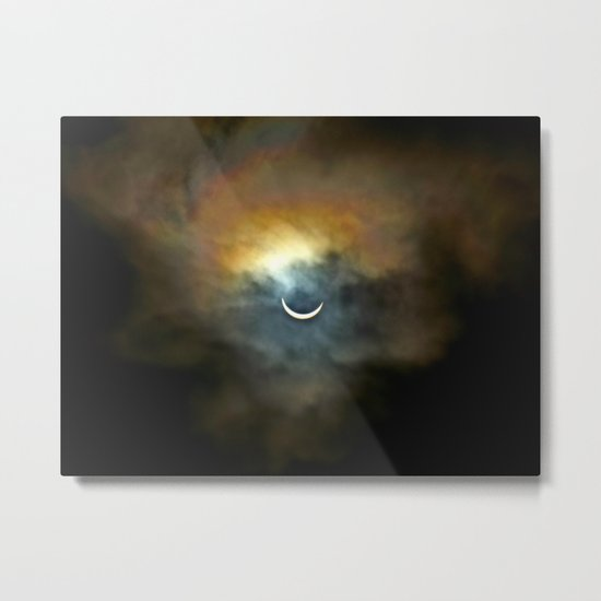 Solar Eclipse 2 Metal Print
