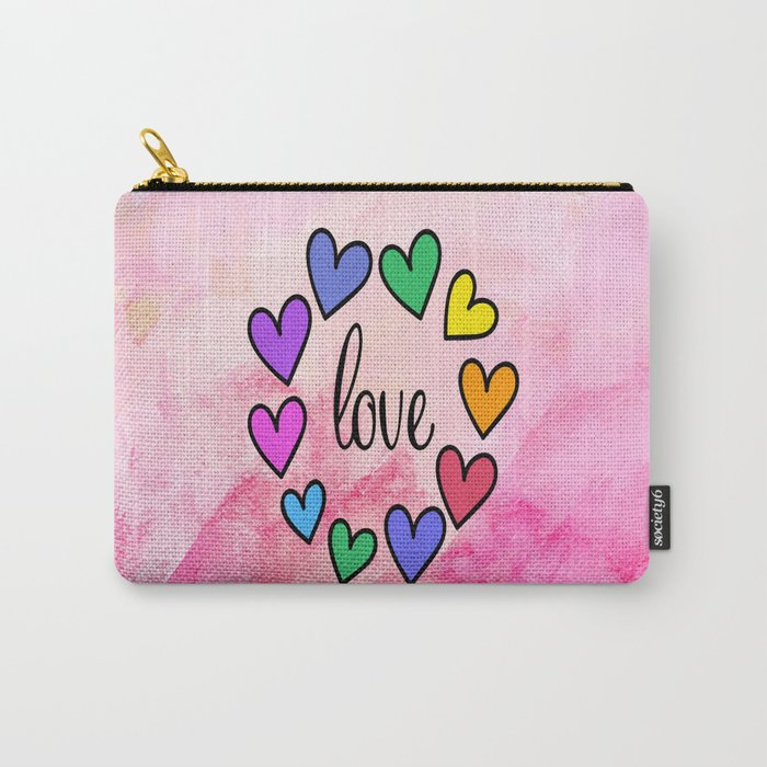 Love 118 Carry-All Pouch