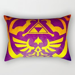 Zelda Shield II Rectangular Pillow