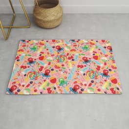 Candy Pattern - Pink Rug