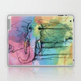 Watercolor for Elephants. Laptop & iPad Skin
