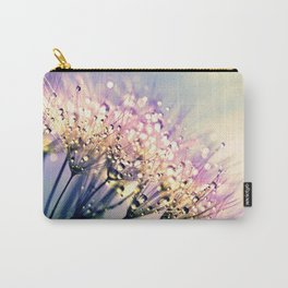 Pastel Dandelion Dew Carry-All Pouch