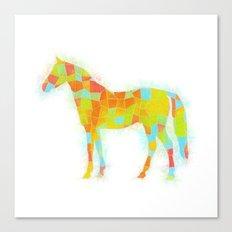 Oh, Hi, Horse Canvas Print