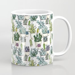 Tiny Cactus Succulents Cacti Coffee Mug