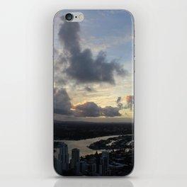 Golden sunsets iPhone Skin