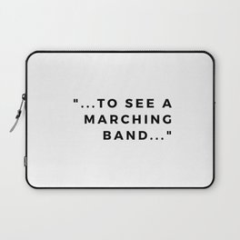 a marching band Laptop Sleeve