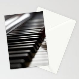 Musician play piano Stationery Cards