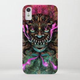 Japanese Dragon Mask iPhone Case