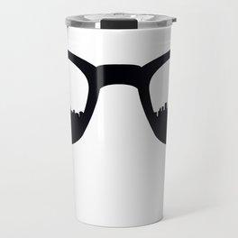 Manhattan Poster Travel Mug