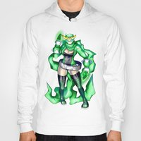 sublime Hoodies featuring Royal Ranger - Sublime Emerald by 121gigawatts